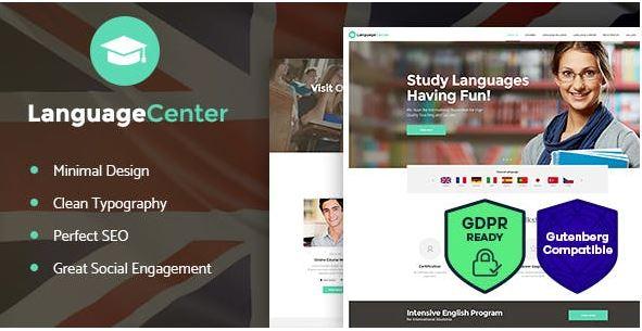 Language Center là mẫu web trung tâm ngoại ngữ bạn không nên bỏ qua.