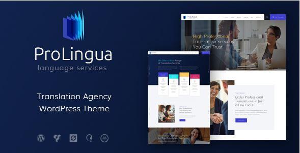 ProLingua - mẫu website trung tâm ngoại ngữ độc đáo