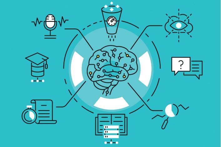 Ứng dụng AI trong việc học trực tuyến.