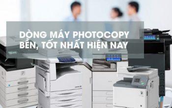 Top 10 loại máy photocopy của Nhật tốt nhất hiện nay