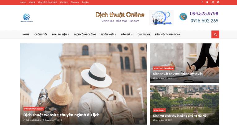 Công ty dịch thuật online