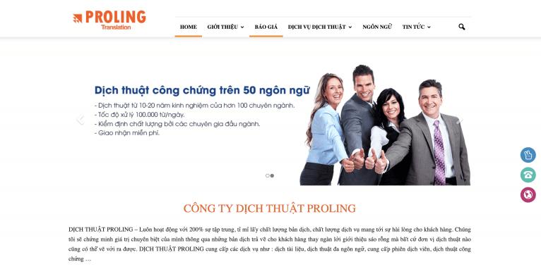 Công ty Dịch thuật PROLING