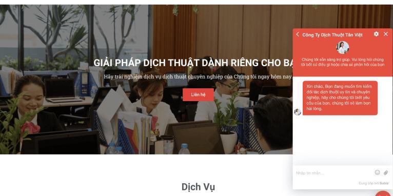 Công ty dịch thuật website tiếng Nhật uy tín Tân Việt