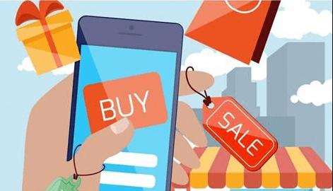Sử dụng app mua hàng